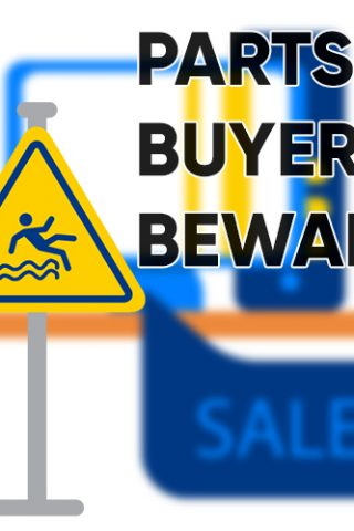 Appliance Parts Buyer Beware Graphic