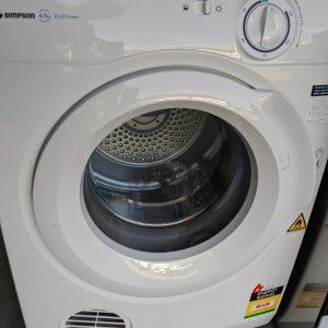 Simpson SDV457HQWA Clothes Dryer. Doug Smith Spares Gold Coast Mar20