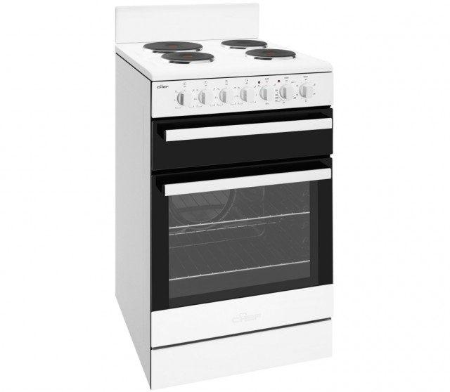 Chef cfe535wb upright stove. Doug Smith Spares Granville