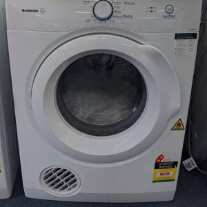 Simpson SDV556HQWA Clothes Dryer. Doug Smith Spares Granville Nov19