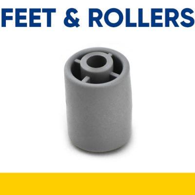 Feet, Floor Rollers