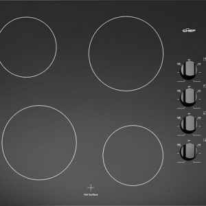 Chef CHI743BA Boosted Induction Cooktop stock. Doug Smith Spares