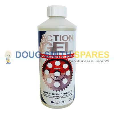 Action Gel Rust Removal Gel. Doug Smith Spares